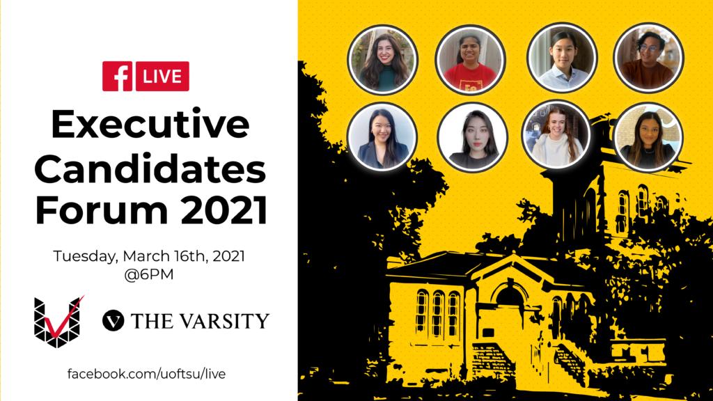 Presentation Slide for Executive Candidates Forum